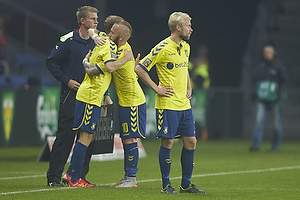 Magnus Eriksson (Br�ndby IF), Thomas Kahlenberg (Br�ndby IF)