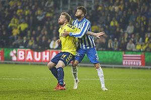 Ronnie Schwartz (Br�ndby IF), Daniel Stenderup (Esbjerg fB)