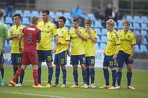 Svenn Crone (Br�ndby IF), Dario Dumic (Br�ndby IF), Elba Rashani (Br�ndby IF)