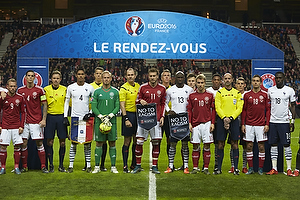 Daniel Agger, anf�rer (Danmark), Kasper Schmeichel (Danmark), Nicklas Bendtner (Danmark), Christian Eriksen (Danmark), Jakob Poulsen (Danmark)