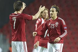 Erik Sviatchenko, m�lscorer (Danmark), William Kvist J�rgensen (Danmark)