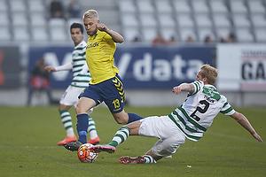 Johan Larsson (Br�ndby IF), Jonas Thorsen (Viborg FF)