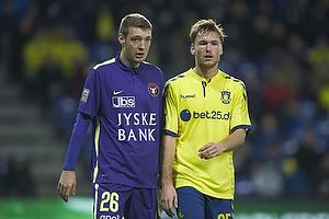Patrick Banggaard (FC Midtjylland), Christian Greko Jakobsen (Br�ndby IF)