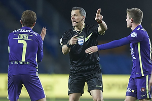 Jakob Poulsen (FC Midtjylland), Michael Tykgaard, dommer