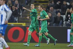 Daniel Agger (Br�ndby IF), Thomas Kahlenberg, anf�rer (Br�ndby IF)