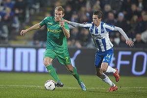 Thomas Kahlenberg, anf�rer (Br�ndby IF), Jens Jakob Thomasen (Ob)