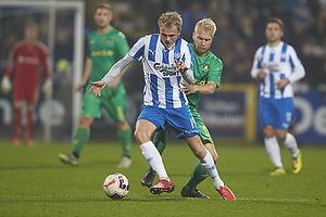 Mikkel Desler (Ob), Johan Larsson (Br�ndby IF)