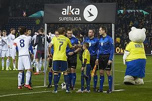 Thomas Delaney, anf�rer (FC K�benhavn), Thomas Kahlenberg, anf�rer (Br�ndby IF)