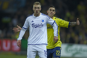 Nicolai J�rgensen (FC K�benhavn), Daniel Agger (Br�ndby IF)