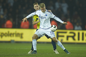 Andreas Cornelius (FC K�benhavn), Martin Albrechtsen (Br�ndby IF)