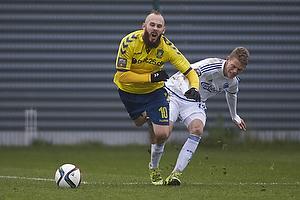 Magnus Eriksson (Br�ndby IF), Kasper Kusk (FC K�benhavn)