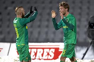 Christian Greko Jakobsen, m�lscorer (Br�ndby IF), Magnus Eriksson (Br�ndby IF)