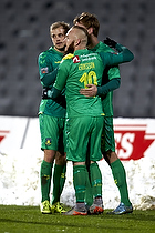 Teemu Pukki (Br�ndby IF), Magnus Eriksson (Br�ndby IF), Christian Greko Jakobsen (Br�ndby IF)