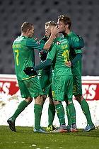 Magnus Eriksson (Br�ndby IF), Christian Greko Jakobsen (Br�ndby IF), Thomas Kahlenberg (Br�ndby IF)