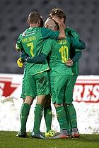 Thomas Kahlenberg (Br�ndby IF), Magnus Eriksson (Br�ndby IF), Christian Greko Jakobsen (Br�ndby IF)