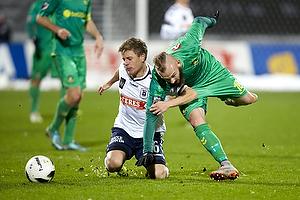 Magnus Eriksson (Br�ndby IF), Daniel Christensen (Agf)