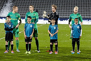 Thomas Kahlenberg, anf�rer (Br�ndby IF), Daniel Agger (Br�ndby IF), Frederik R�nnow (Br�ndby IF), Johan Larsson (Br�ndby IF)