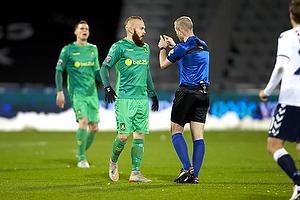 Magnus Eriksson (Br�ndby IF), Dennis Mogensen, dommer