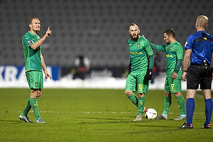 Thomas Kahlenberg (Br�ndby IF), Magnus Eriksson (Br�ndby IF)