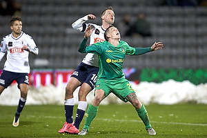 Kim Aabech (Agf), Daniel Agger (Br�ndby IF)