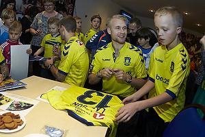 Magnus Eriksson (Br�ndby IF), Thomas Kahlenberg (Br�ndby IF), Johan Larsson (Br�ndby IF)