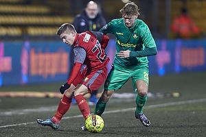 Mads Mini Pedersen (FC Nordsj�lland),  Christian Greko Jakobsen (Br�ndby IF)