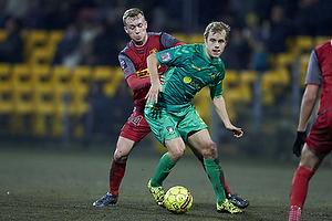 Teemu Pukki (Br�ndby IF), Gudmundur Thorarinsson (FC Nordsj�lland)
