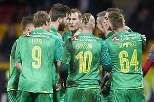 Daniel Agger, m�lscorer (Br�ndby IF), Ronnie Schwartz (Br�ndby IF), Magnus Eriksson (Br�ndby IF), Teemu Pukki (Br�ndby IF)
