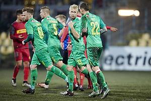 Daniel Agger, m�lscorer (Br�ndby IF), Johan Larsson (Br�ndby IF)