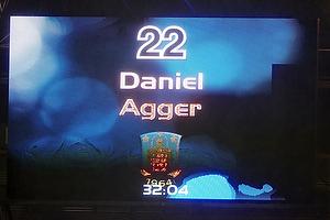 Daniel Agger, m�lscorer (Br�ndby IF)