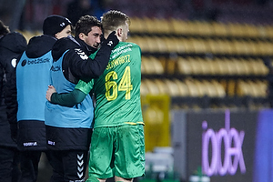 Ronnie Schwartz, m�lscorer (Br�ndby IF), Frederik Holst (Br�ndby IF)