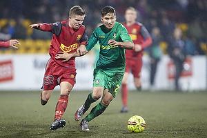 Andrew Hjulsager (Br�ndby IF), Mads Mini Pedersen (FC Nordsj�lland)