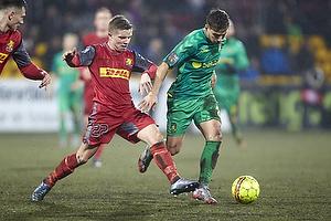 Mads Mini Pedersen (FC Nordsj�lland), Andrew Hjulsager (Br�ndby IF)
