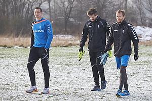 Daniel Agger (Br�ndby IF), Martin �rnskov (Br�ndby IF), Thomas Kahlenberg (Br�ndby IF)