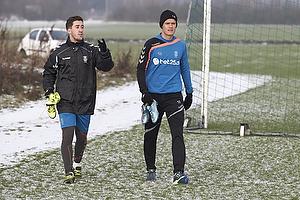 Frederik Holst (Br�ndby IF), Christian N�rgaard (Br�ndby IF)