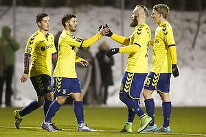 Riza Durmisi, m�lscorer (Br�ndby IF), Magnus Eriksson (Br�ndby IF)