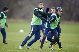 Daniel Agger (Br�ndby IF), Kamil Wilczek (Br�ndby IF), Daniel St�ckler (Br�ndby IF)