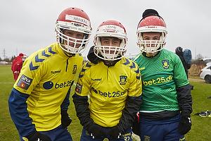 Andreas Hansen (Br�ndby IF), Daniel St�ckler (Br�ndby IF), Patrick Da Silva (Br�ndby IF)