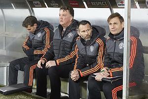 Louis van Gaal, cheftr�ner (Manchester United), Ryan Giggs, assistenttr�ner (Manchester United)