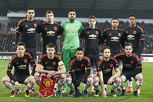 Ander Herrera (Manchester United), Memphis Depay (Manchester United), Juan Mata (Manchester United), Anthony Martial (Manchester United), Chris Smalling (Manchester United), Michael Carrick (Manchester United), Daley Blind (Manchester United), Ander Herrera (Manchester United), Paddy McNair (Manchester United), Jesse Lingard (Manchester United), Donald Love (Manchester United)