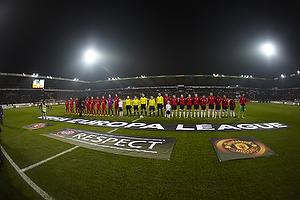 FC Midtjylland og Manchester United p� MCH Arena