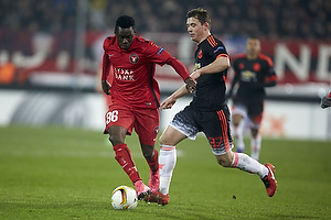Rilwan Hassan (FC Midtjylland), Donald Love (Manchester United)