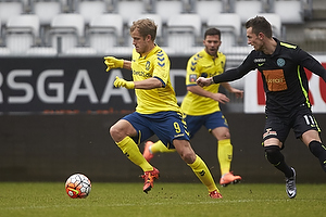 Teemu Pukki (Br�ndby IF), Jonas Kamper (Viborg FF)