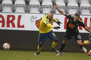 Magnus Eriksson (Br�ndby IF), Jeppe Gr�nning (Viborg FF)