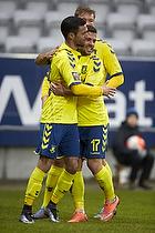 David Boysen, m�lscorer (Br�ndby IF), Riza Durmisi (Br�ndby IF), Christian Greko Jakobsen (Br�ndby IF)