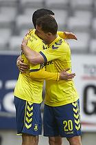 David Boysen, m�lscorer (Br�ndby IF), Kamil Wilczek (Br�ndby IF)