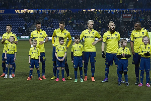 Riza Durmisi (Br�ndby IF), David Boysen (Br�ndby IF), Kamil Wilczek (Br�ndby IF), Johan Larsson (Br�ndby IF), Magnus Eriksson (Br�ndby IF), Rodolph William Austin (Br�ndby IF)