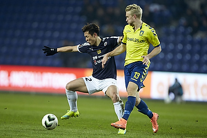Jung-Bin Park (Hobro IK), Johan Larsson (Br�ndby IF)