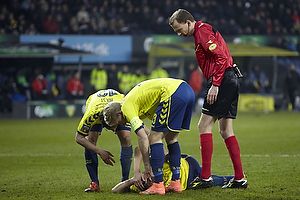 Jesper Lindorff Juelsg�rd (Br�ndby IF), Johan Larsson, anf�rer (Br�ndby IF)