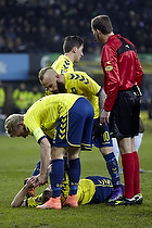 Jesper Lindorff Juelsg�rd (Br�ndby IF), Johan Larsson, anf�rer (Br�ndby IF), Magnus Eriksson (Br�ndby IF)